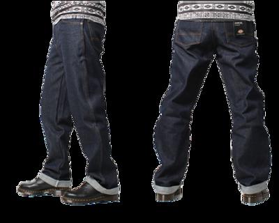 Dickies 牛仔長褲 寬版 9393 NB 深藍色 (7.6折)