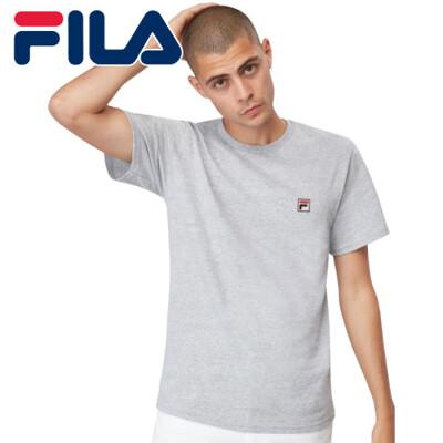 FILA 美國進口 運動品牌 男生LOGO T-SHIRT 短袖上衣 短T 灰色現貨 (9.1折)