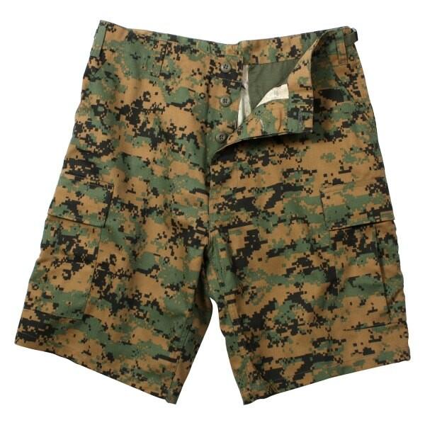rothco 軍用品牌 休閒短褲 65412數位迷彩