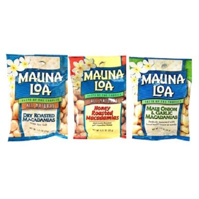 美國【MAUNA LOA-夢露萊娜】限量*夏威夷豆隨手包裝,多種口味可選 (8.6折)