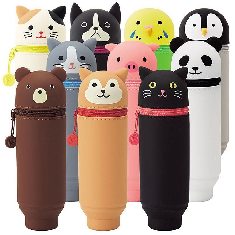 日本原裝進口 lihit lab 動物造型筆袋(大)