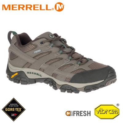 MERRELL 美國 男 Moab 2 Gore-tex 戶外多功能登山鞋《圓石色》033335/水 (8折)