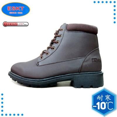 ESKT 台灣 男 中筒雪鞋《咖啡》SN210/冰爪/保暖雪靴/雪地行走/旅遊/靴子 (9折)