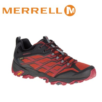 MERRELL 美國 男款 MOAB FST GORE-TEX 紅色越野鞋/休閒鞋/登山鞋/運動鞋/ (8折)