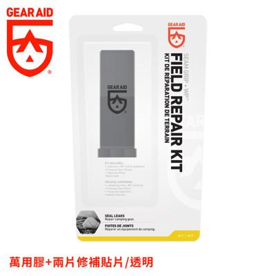 gear aid 美國 萬用膠+兩片修補貼片透明10591/補貼片/補丁/羽絨衣/帳篷/裝備維修 (9折)