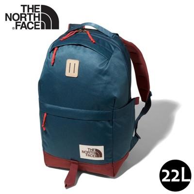 The North Face 22L 13吋電腦背包《藍/紅》3KY5/多功能休閒背包/電腦背包/學 (8.5折)