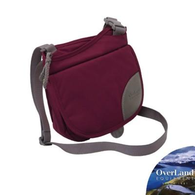 OVERLAND 美國 Isabella 側背包《紫紅/花》OL142NBD1807/斜背包/旅行 (8.5折)