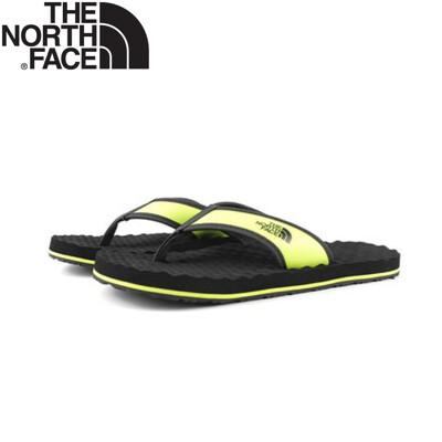 The North Face 男 夾腳拖鞋《黑/黃》47AA/沙灘拖/休閒拖鞋/夾腳拖 (8.4折)