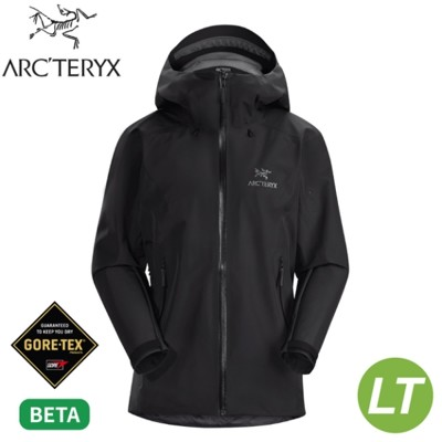 ARC'TERYX 始祖鳥 女 Beta LT 防水外套《黑》26827/Gore-Tex/連帽外套 (9.5折)