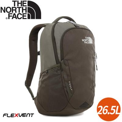The North Face 26.5L VAULT 後背包《綠》3KV9/電腦包/書包/15吋筆電 (8.5折)