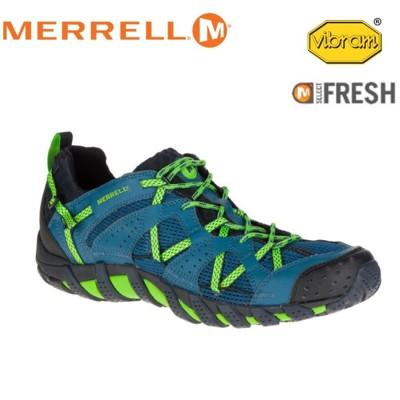 MERRELL 美國 男款 WATERPRO MAIPO 藍色越野鞋/休閒鞋/登山鞋/運動鞋/健行/ (8折)