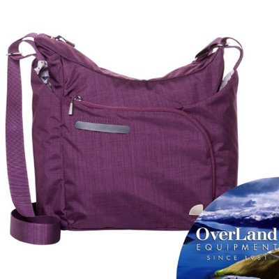 OVERLAND 美國 Belvedere輕量多功能側背包《紫》OL161NBD0174/斜背包/書 (8.5折)