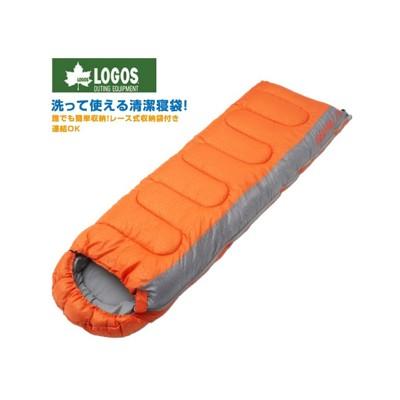 LOGOS 日本 LOGOS 6度 抗菌防臭丸洗睡袋 橙化纖睡袋/睡袋/登山/露營睡袋/保暖睡袋/7 (8.5折)