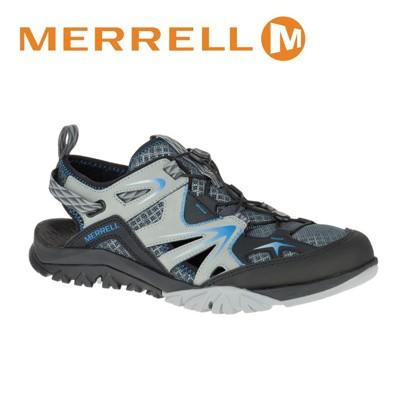 MERRELL美國 男款 CAPRA RAPID SIEVE 水陸兩棲鞋〈淺灰/黑〉休閒鞋/登山鞋/ (8折)