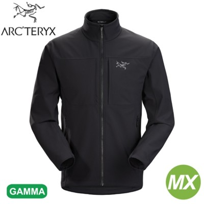 ARC'TERYX 始祖鳥 男 Gamma MX軟殼外套《黑》24117/防潑水/超輕薄夾克/防風/ (9.5折)