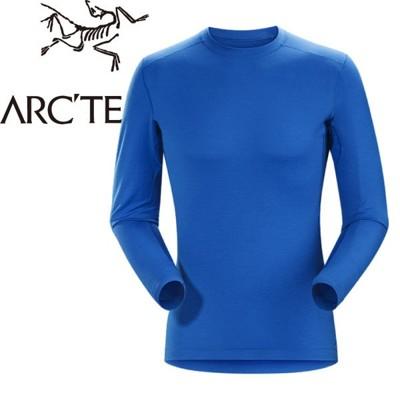 ARC'TERYX 始祖鳥 男款 Satoro AR羊毛內層圓領衫《參宿藍》保暖衣/內層衣/羊毛衣/ (9.5折)