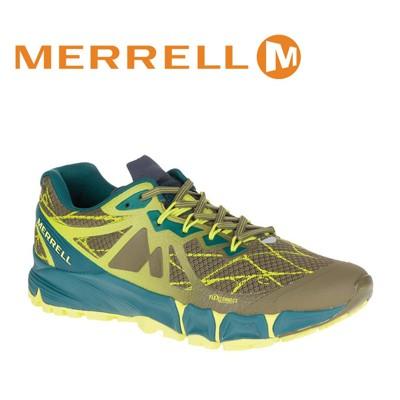 MERRELL美國 男款 AGILITY PEAK FLEX 慢跑鞋 〈深橄欖綠〉休閒鞋/慢跑鞋/運 (8折)