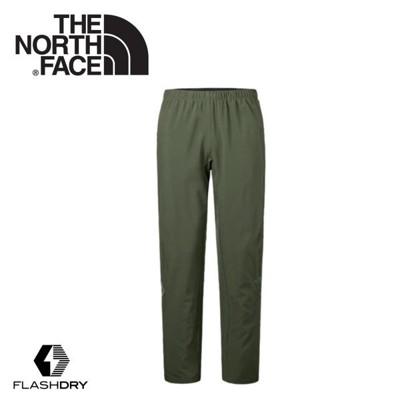 The North Face 男 FlashDry彈性長褲《軍綠》2TZV/休閒長褲/機能性長褲/健 (8.5折)
