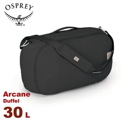 OSPREY 美國 Arcane Duffel 30 多功能旅行包《復古黑》30L電腦包/行李袋/都 (9折)
