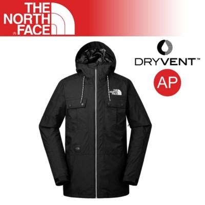 The North Face 男 DV防水外套《黑》3IFC/DryVent/防水夾克/風雨衣/戶 (8.5折)