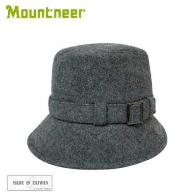 Mountneer 山林 羊毛保暖筒帽《麻灰》12H16/羊毛帽/保暖帽/休閒帽 (5折)