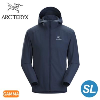 ARC'TERYX 始祖鳥 男 Gamma SL軟殼外套《幸運藍》28210/連帽外套/輕薄防風 (9.5折)