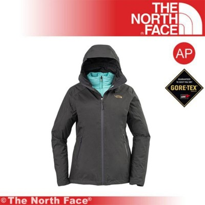 The North Face 女 GTX防水透氣三合一外套《灰》3KTP-7LP/保暖外套/連帽外套 (8.5折)