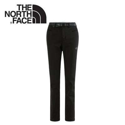 The North Face 女款 彈性保暖長褲 黑彈性保暖長褲/保暖長褲/休閒長褲/NF0A2UE (8.5折)