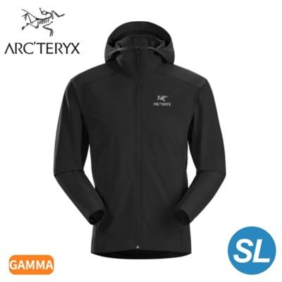 ARC'TERYX 始祖鳥 男 Gamma SL軟殼外套《黑》28210/連帽外套/輕薄防風 (9.5折)