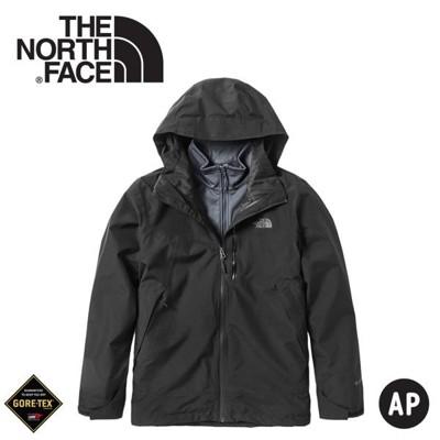 The North Face 男 GORE-TEX三合一兩件式防水外套《黑》49B7/衝鋒衣/風雨衣 (8.5折)
