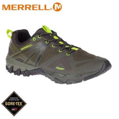 MERRELL 美國 男 Mqm Flex Gore-Tex 低筒登山鞋《深橄欖綠》48929/運動 (8折)
