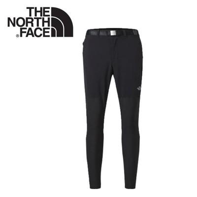 The North Face 男 DWR防潑水長褲《黑》3CHH/緊身長褲/健行褲/運動褲 (8.5折)