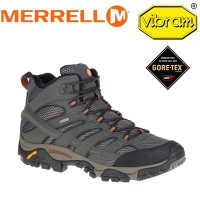 MERRELL 美國 男款 MOAB 2 MID GORE-TEX《棕》休閒鞋/登山鞋/運動鞋/ML (8折)