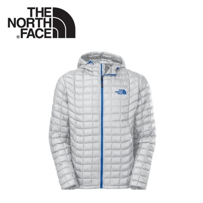 The North Face 男 TB保暖兜帽外套《灰白》C761/羽絨外套/輕量/防風外套 (8.5折)