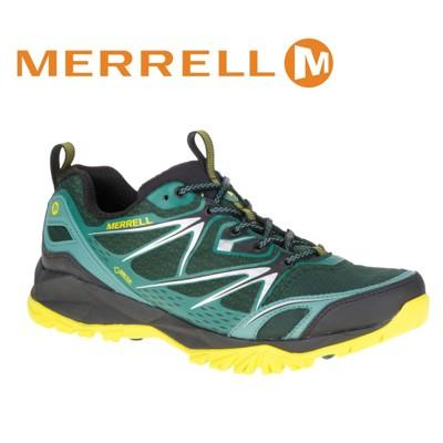 MERRELL 美國 男款 CAPRA BOLT GORE-TEX 多功能健行鞋〈綠〉休閒鞋/登山鞋 (8折)