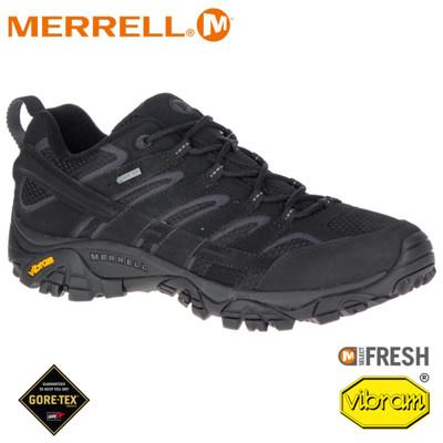 MERRELL 美國 男 MOAB 2 GORE-TEX 防水健行鞋《黑色》599613/登山鞋/戶 (8折)