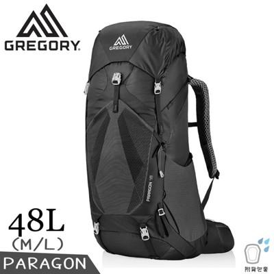 GREGORY 美國 48L PARAGON登山背包M/L《玄武黑》126843/專業健行背包/後背 (9折)
