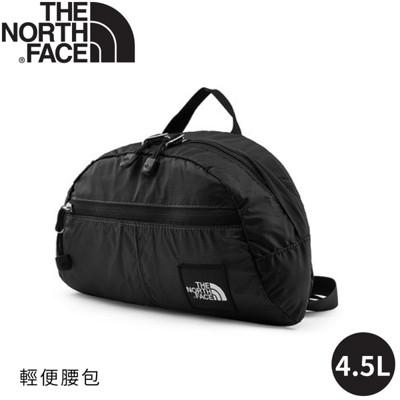 the north face 4.5l 腰包黑格紋3kz5/側背包/隨身包/小包/休閒包/出國/ (8.4折)