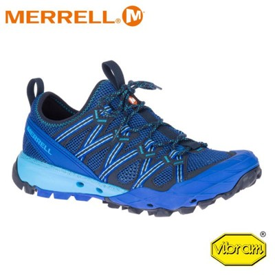 MERRELL 美國 男 Choprock 水陸兩棲健行登山鞋《寶藍》99857/輕量/健走/溯溪/ (8折)