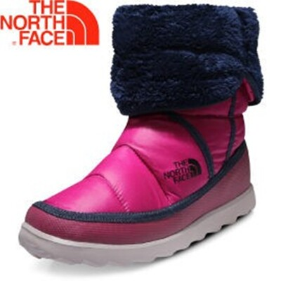 The North Face 女 ThermoBall 暖魔球 保暖雪靴 亮光耀紫/宇宙藍雪靴/A5 (8.5折)