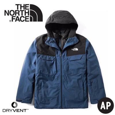 The North Face 美國 男 DryVent兩件式 防水化纖雪衣外套《藍》3M4M/防風外 (8.5折)