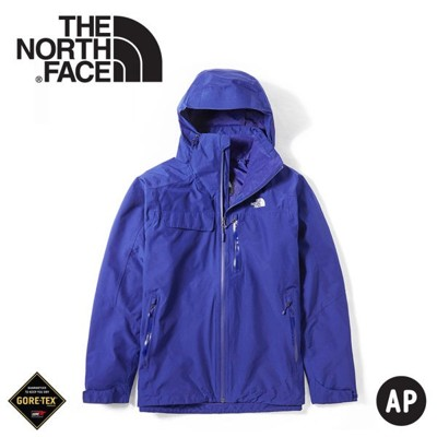 The North Face 男 GORE-TEX單件式防水外套《國旗藍》49B6/衝鋒衣/防水外套 (8.5折)