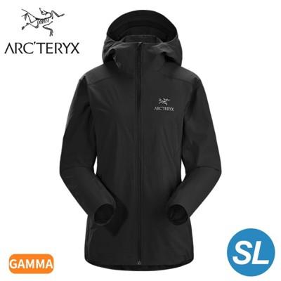 ARC'TERYX 始祖鳥 女 Gamma SL軟殼外套《黑》25135/薄外套/夾克/防風外套 (9.5折)