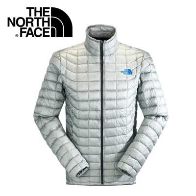 The North Face男 ThermoBall 暖魔球 保暖外套 灰白暖魔球外套/ C939 (8.5折)