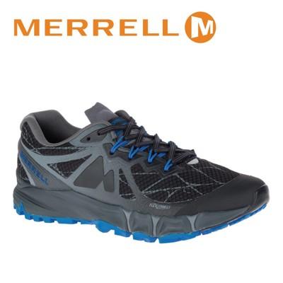 MERRELL 美國 男款 AGILITY PEAK FLEX 慢跑鞋〈黑/藍〉休閒鞋/登山鞋/運動 (8折)