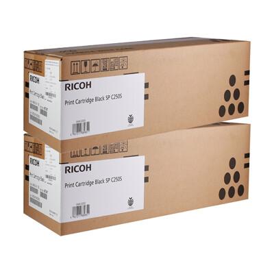 二入 RICOH SP C250S 黑 原廠碳粉匣 (9.6折)
