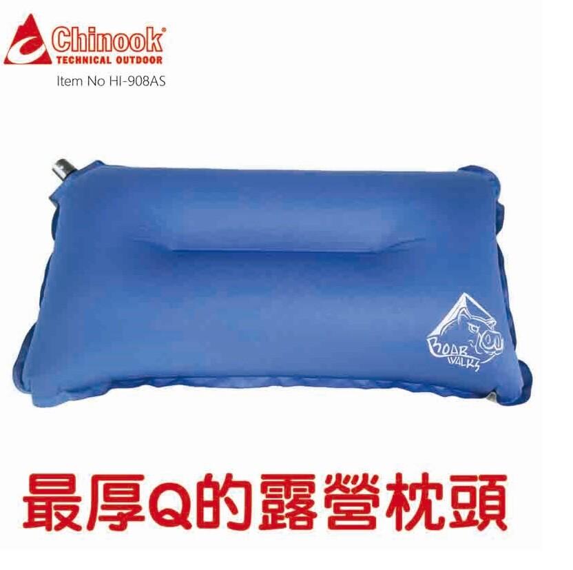 chinook厚q自動充氣枕(充氣枕頭)