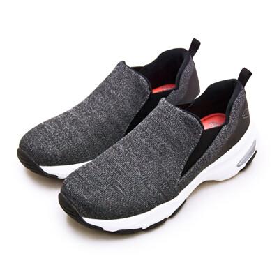 lotto增高厚底美型輕便健走鞋 easy wear 系列 灰黑 1238 女 (7.8折)