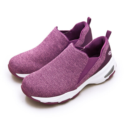 lotto增高厚底美型輕便健走鞋 easy wear 系列 桃紫 1237 女 (7.8折)