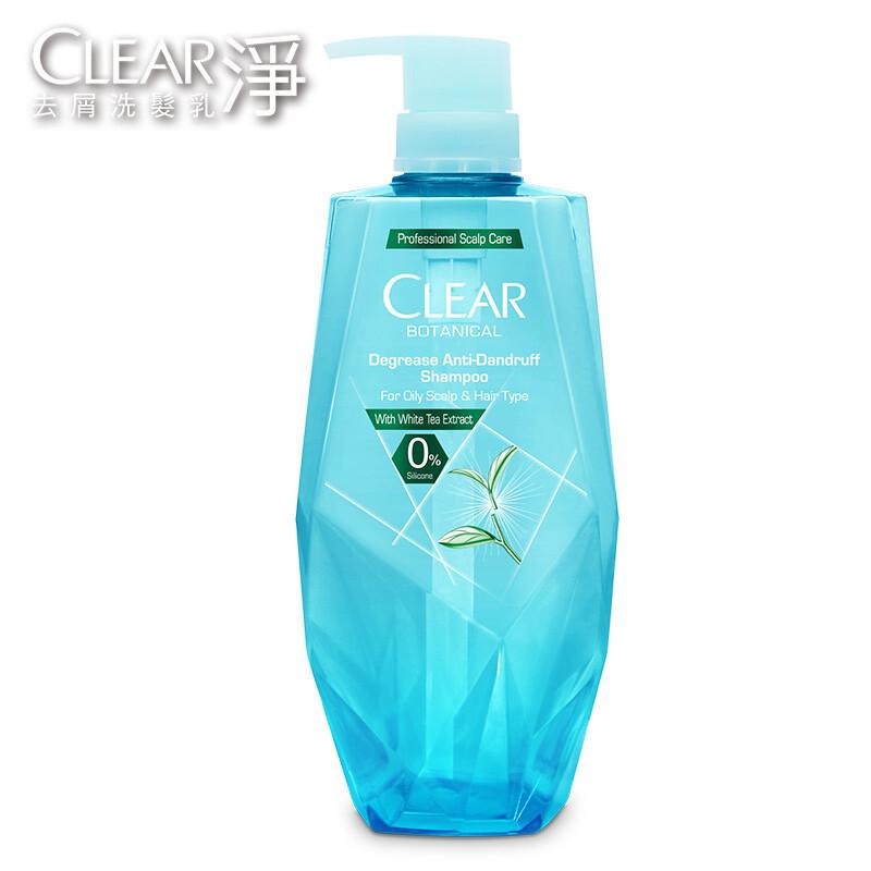 clear淨 植覺控油去屑洗髮露-白茶精萃 700ml/組合購